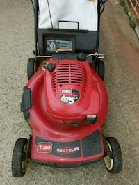Toro self propelled lawn mower. Herndon, 20171