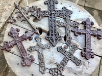 7 Wrought Iron Crosses Midwest City, 73130