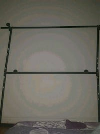 black and gray metal bed frame Montréal, H1X 1W8