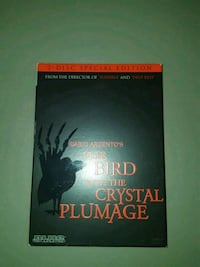 The Bird With The Crystal Plumage (HorrorDVDMovie) Gaithersburg, 20879