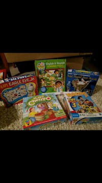 Kid Games and Puzzles - Complete Sets! Hopkins, 55305