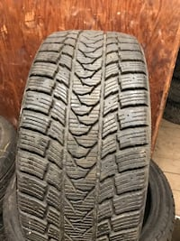 4 winter tires almost brand new 225/40/18 Côte-Saint-Luc, H4W 2T8