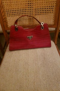 women's red leather tote bag South Salt Lake, 84115