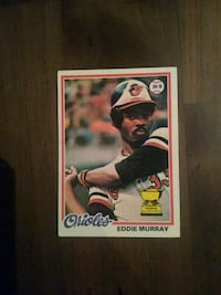 Topps Eddie Murray rookie card Fairfax, 22032