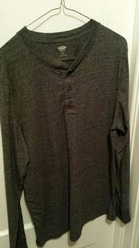 gray half button sweater Windsor, N9C 1H2