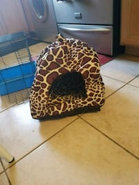 brown and black leopard print nursing pillow Washington, 20011