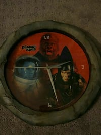 Collectors Planet of the Apes clock Lusby, 20657