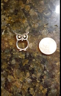 STERLING SILVER OWL CHARM/PENDANT Houston, 77007