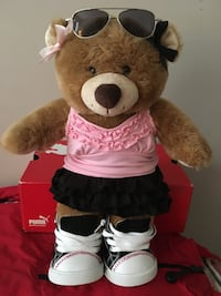 Build a Bear with outfits & accessories
