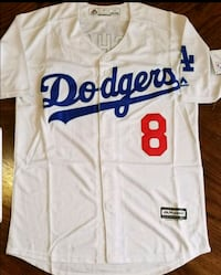 white and blue Los Angeles Dodgers 22 jersey shirt Colton, 92324