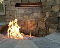 custom water features and fire pits Murrieta