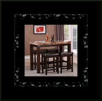 5pc Pub table with 4 stools Alexandria, 22305