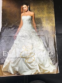 Stunning Wedding dress size 8 Langley, V1M 1G2