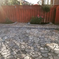 Interlocking and landscaping  sercice for the gta Mississauga, L5B 3K7