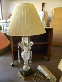 brown and white table lamp 2253 mi