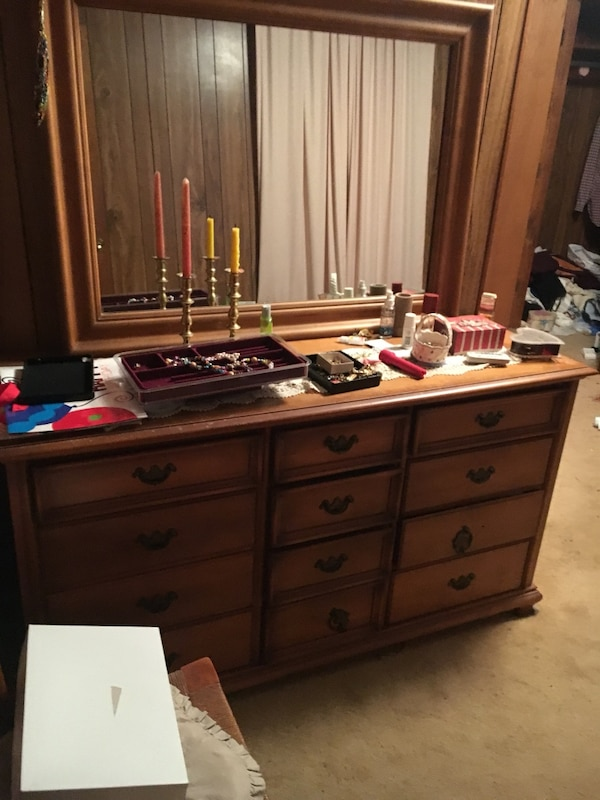 Used Large Dresser With Mirror For Sale In Powhatan Letgo