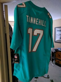 NFL Miami Dolphins jersey with tags on size medium St. Catharines, L2T 4B4