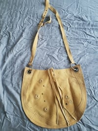Genuine suede sm/med cross body brand new  Calgary, T2E 3S7
