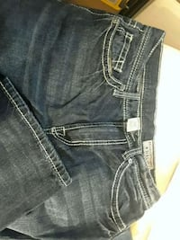 32x32blue denim related straight-cut jeans 2358 mi