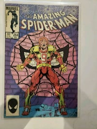 Amazing Spider-Man  264  ok 5.0 condition    Infin Indio, 92201