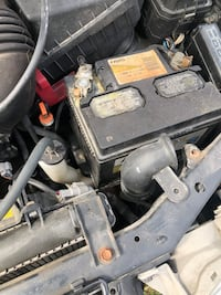 Car battery from 2001 Toyota Corolla Upton, 42784