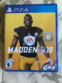 Madden19 PS4 mint condition Toronto, M1C 5J7