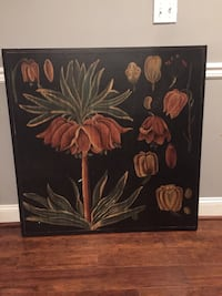 Large pretty flower painting