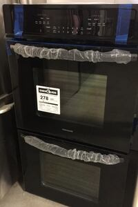 """New Frigidaire 27"""" Double oven self cleaning oven keep warm features Norcross, 30093"""