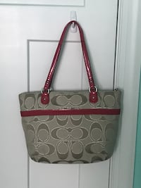 brown and black Coach monogram tote bag Portsmouth, 23704
