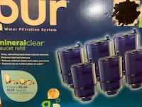 Pur water filters 5 new filters firm price Chicago, 60639