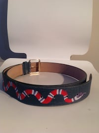 Green and red leather Gucci belt  Ottawa, K4M