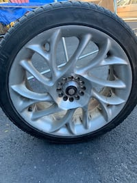 17 inch universal rims and summer tiers