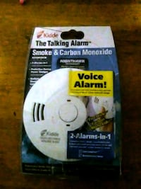 Voice alarm (Carbon and smoke detector) Hudson, 34669