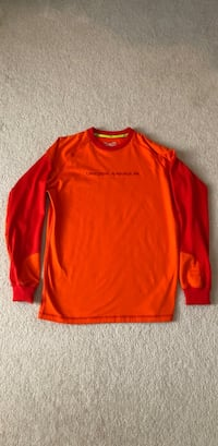 Under Armour Men's Fitted Sweatshirt Cold Gear Size Large Duluth, 30097