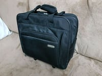 black and gray softside luggage 539 km