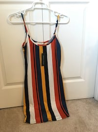 NEW WITH TAGS Small striped dress. Small Burnaby, V5H 4N2