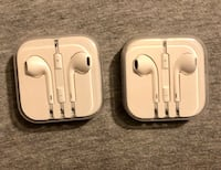iPhone earbuds BRAND-NEW NEVER USED $20  a piece or best offer Waco, 76707