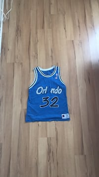 Shaquile O'neal Orlando Magic basketball champion jersey