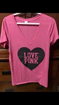 pink and black Pink by Victoria's Secret shirt Prince Albert, S6V