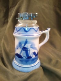 Beautiful antique delft cigarette lighter Toronto, M4Y 2L1