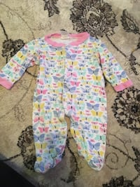 3 size 3/6 month sleepers for $5 Milton, 32570