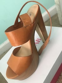 Brown leather open-toe Myrtle Beach, 29588