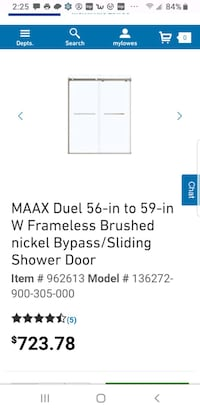 Glass shower doors Crown Point, 46307