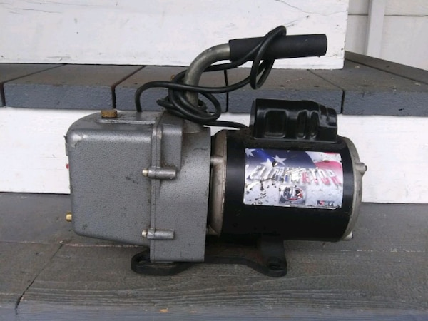 Jb eliminator vacuum pump