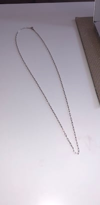 Long silver chain link necklace Calgary, T2T 0A3