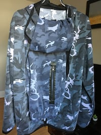 1 light blue & 1 dark blue camo  suit  Rockland, K4K 0B7