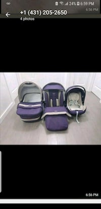 purple and black travel system Calgary, T3M