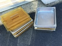 stainless steel serving trays Washington, 20415