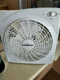 white and gray Holmes portable fan Fairbanks, 99701