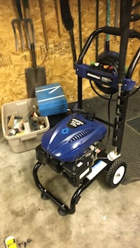 blue and black Campbell Hausfeld air compressor Calgary, T2Z 3P7